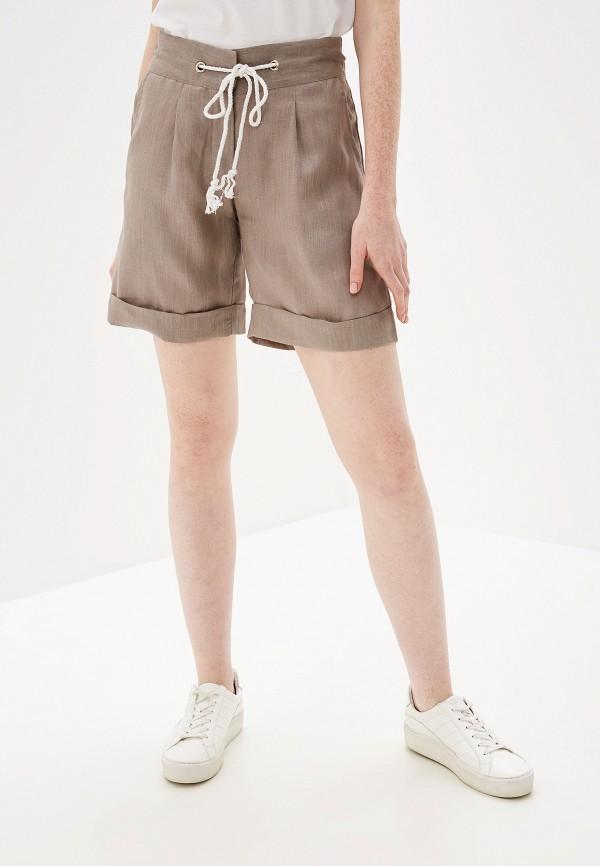 Фото - Женские шорты Glenfield бежевого цвета
