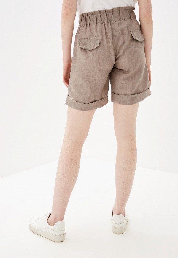 Фото 3 - Женские шорты Glenfield бежевого цвета