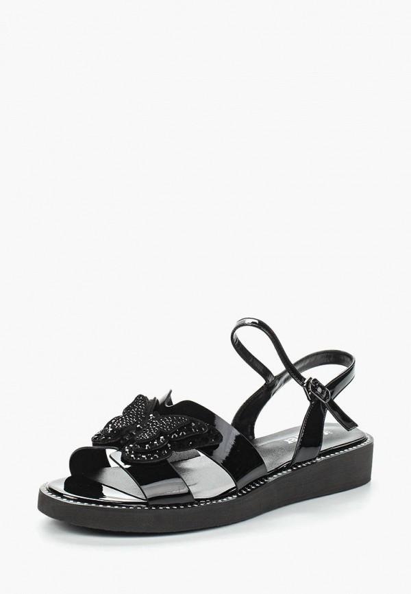 женские сандалии glamforever, черные