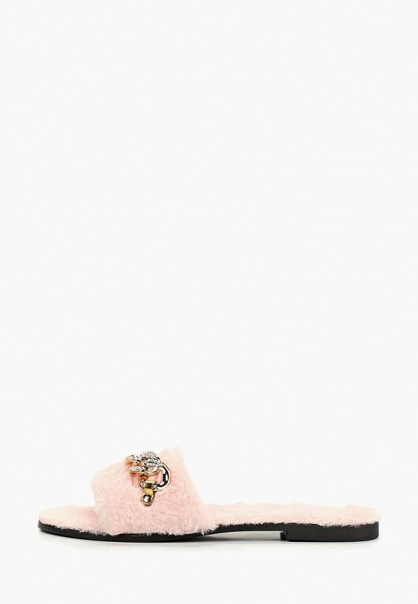 женское сабо glamforever, розовое