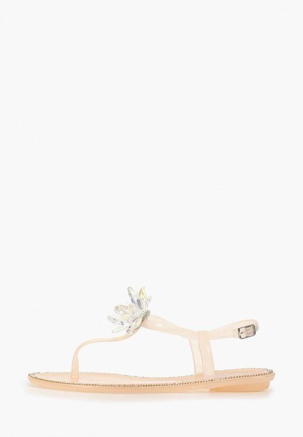 женские сандалии glamforever, белые