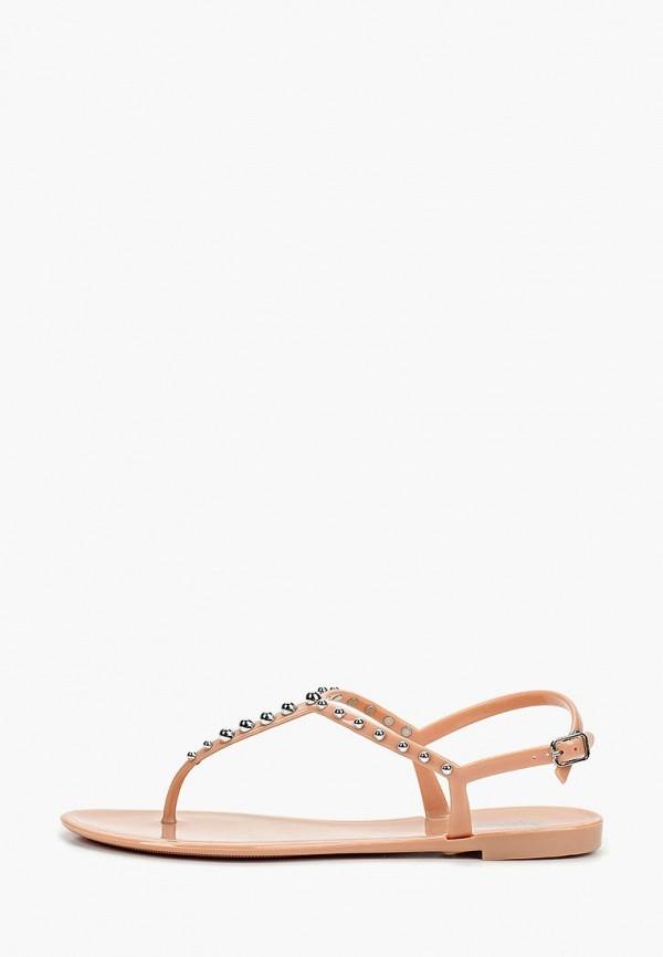 женские сандалии glamforever, розовые