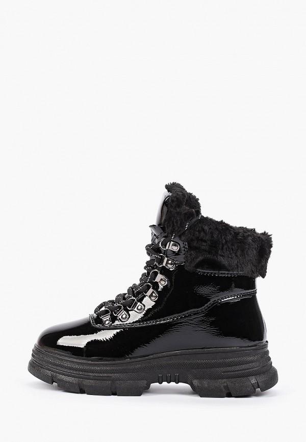 женские ботинки glamforever, черные