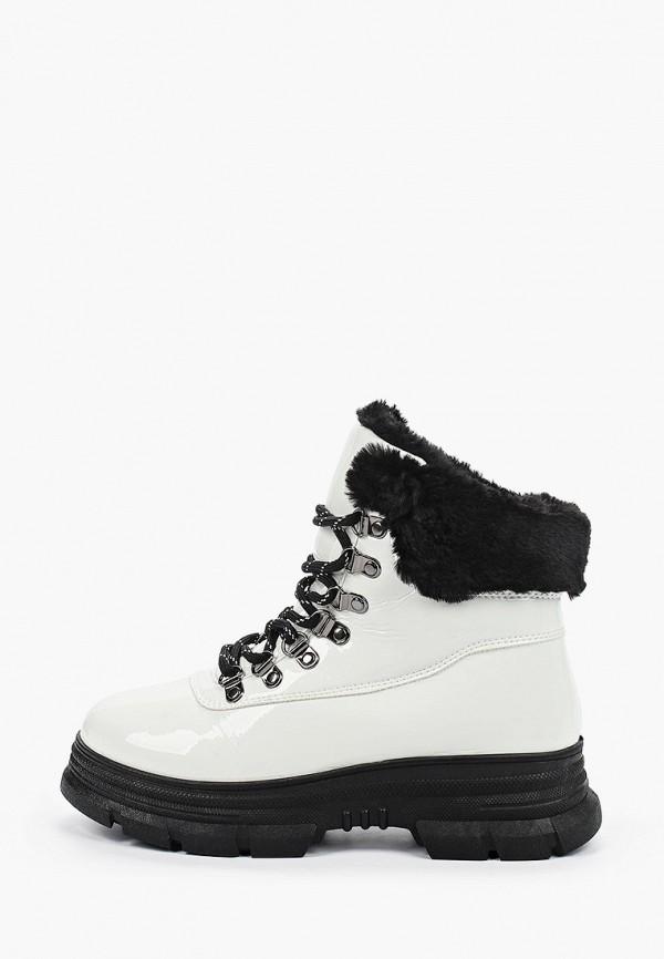женские ботинки glamforever, белые