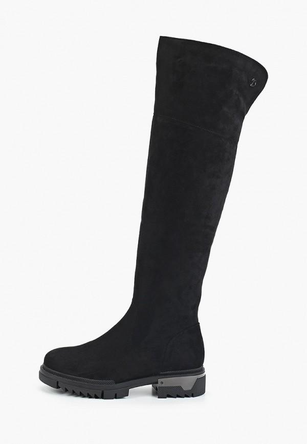 женские ботфорты glamforever, черные