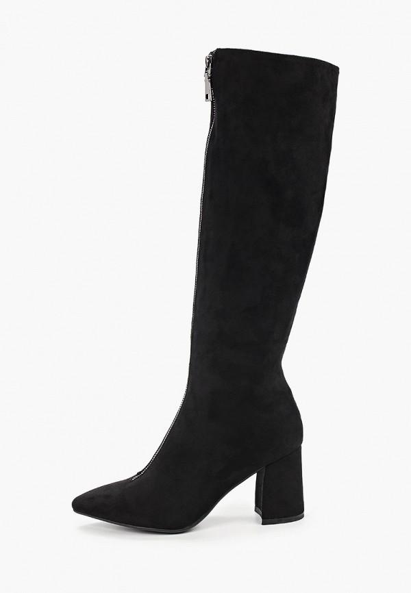 женские сапоги glamforever, черные