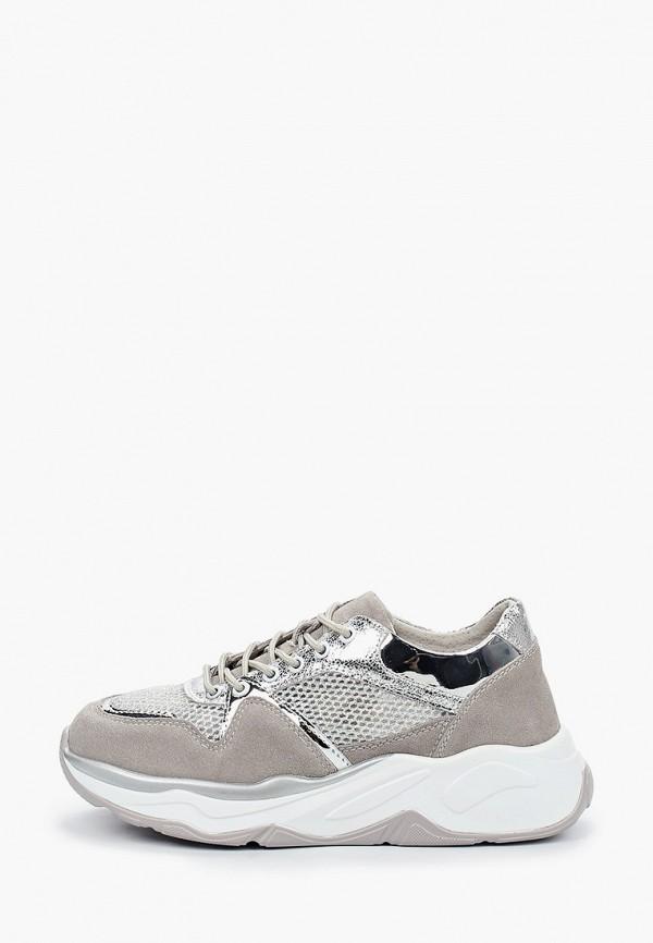 женские кроссовки glamforever, серые