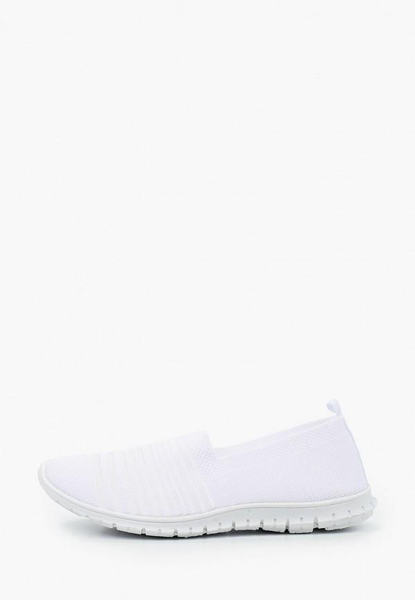 женские кроссовки glamforever, белые