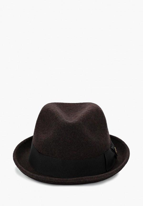 мужская шляпа goorin brothers, коричневая