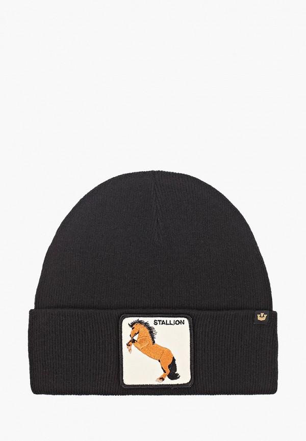 женская шапка goorin brothers, черная