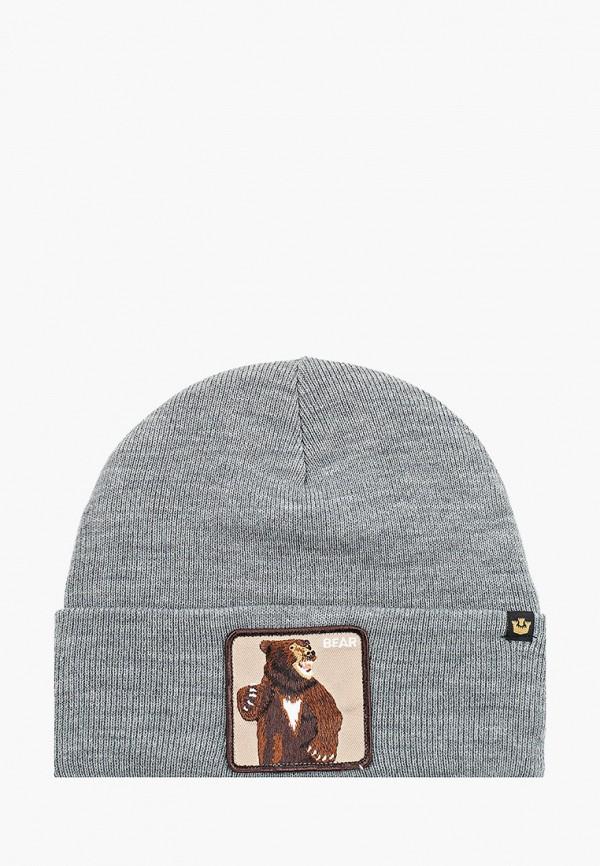 женская шапка goorin brothers, серая