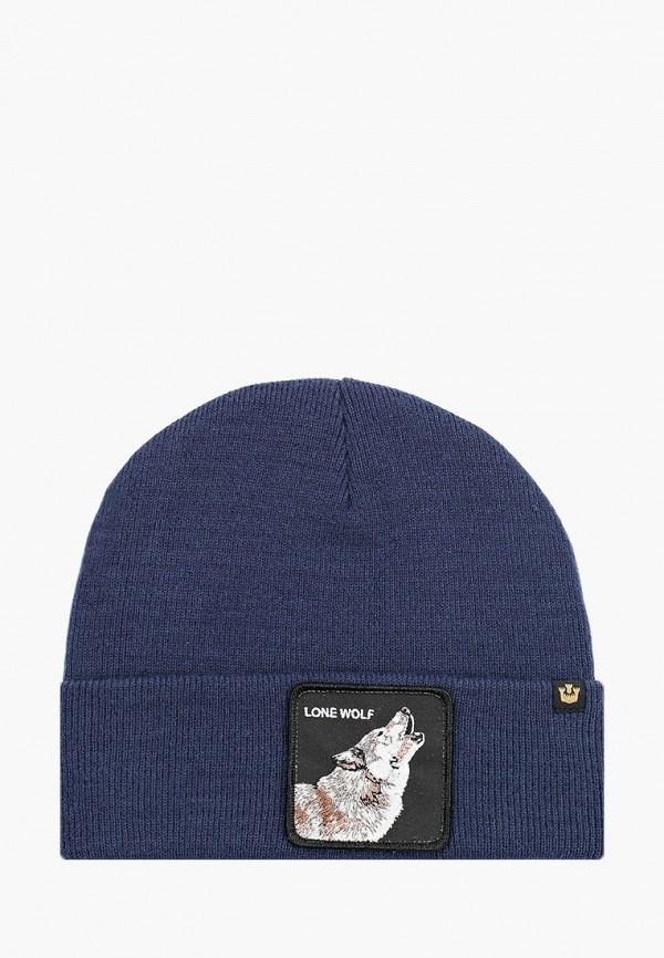 женская шапка goorin brothers, голубая