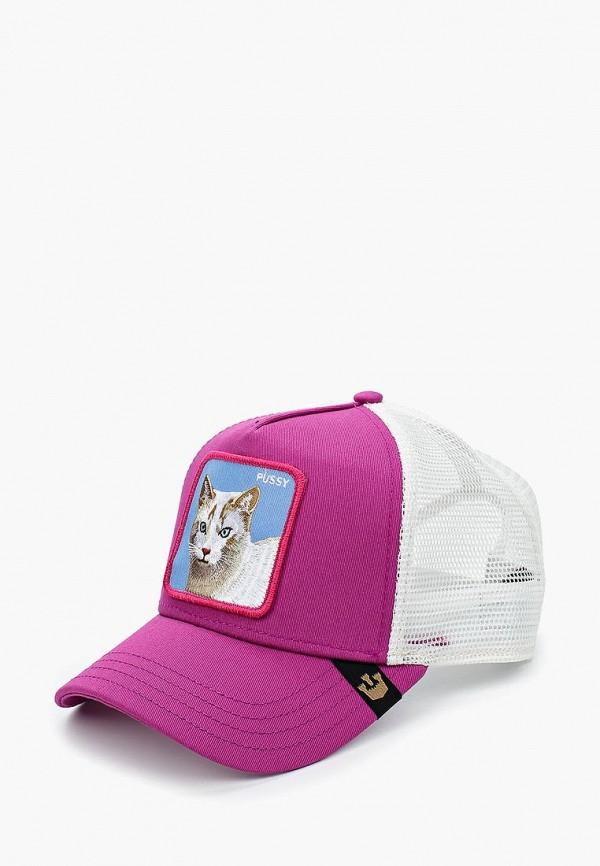 женская бейсболка goorin brothers, фиолетовая