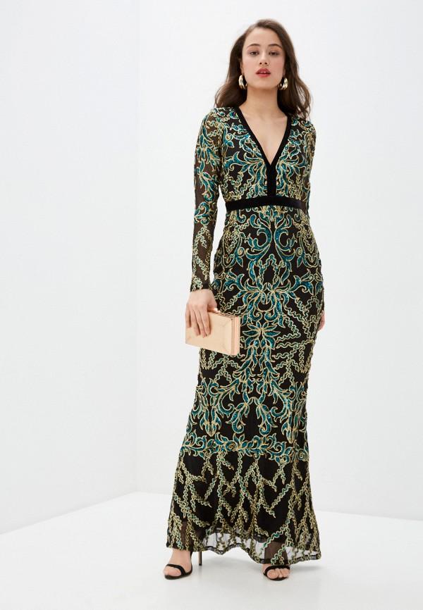 женское вечерние платье goddiva, разноцветное