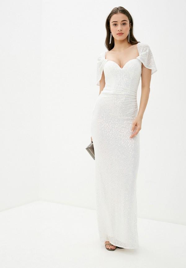 женское платье goddiva, белое