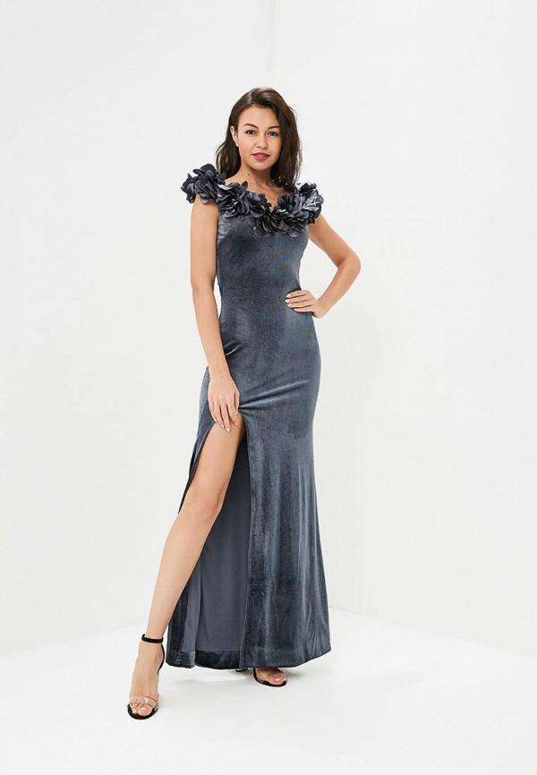 Купить Платье Goddiva, go014ewraf70, серый, Весна-лето 2017