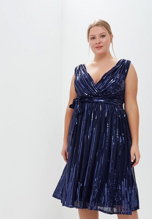 Платье Goddiva Size Plus Goddiva Size Plus GO015EWCSIM4 кардиган авантюра plus size fashion авантюра plus size fashion mp002xw1gm8s