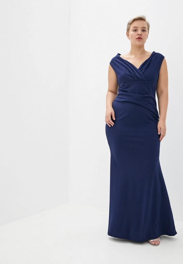 Платье Goddiva Size Plus Goddiva Size Plus GO015EWCSIN6 платье goddiva size plus goddiva size plus go015ewavbh4