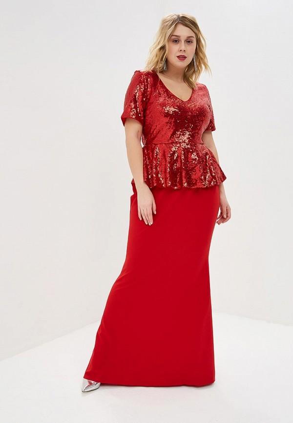 Платье Goddiva Size Plus Goddiva Size Plus GO015EWEQJT3 платье goddiva size plus goddiva size plus go015ewcsil4
