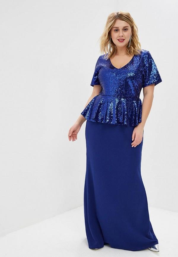 Платье Goddiva Size Plus Goddiva Size Plus GO015EWEQJT5 plus size handkerchief long wool coat