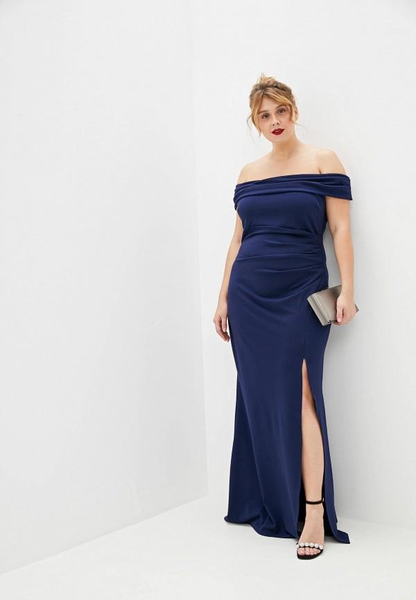 купить Платье Goddiva Size Plus Goddiva Size Plus GO015EWGOEB2 онлайн