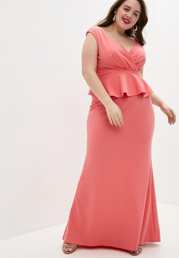 женское вечерние платье goddiva size plus