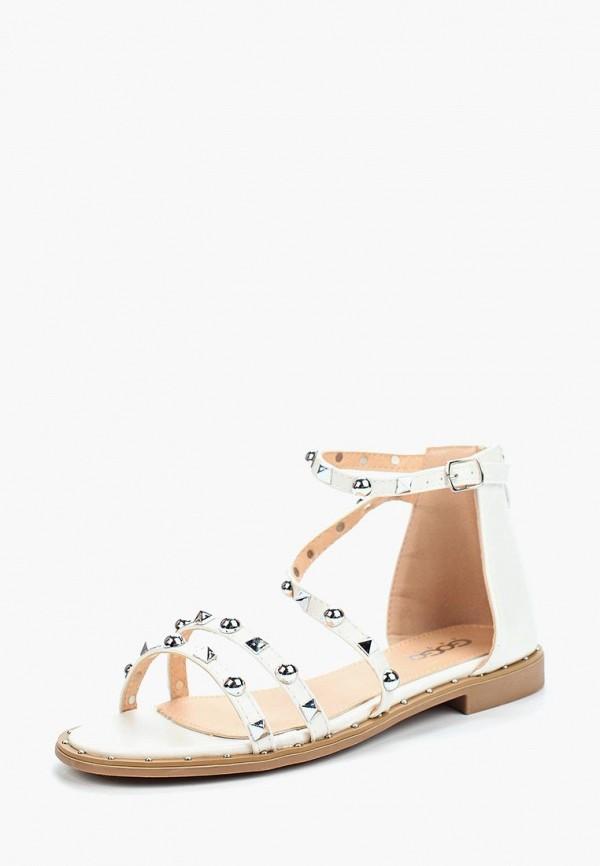 Фото - женские сандали Go-Go белого цвета