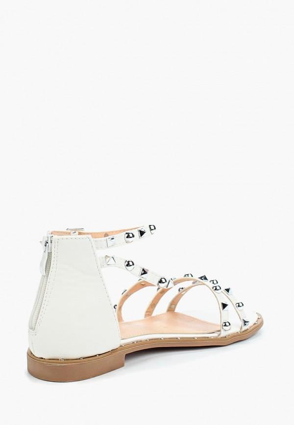 Фото 2 - женские сандали Go-Go белого цвета