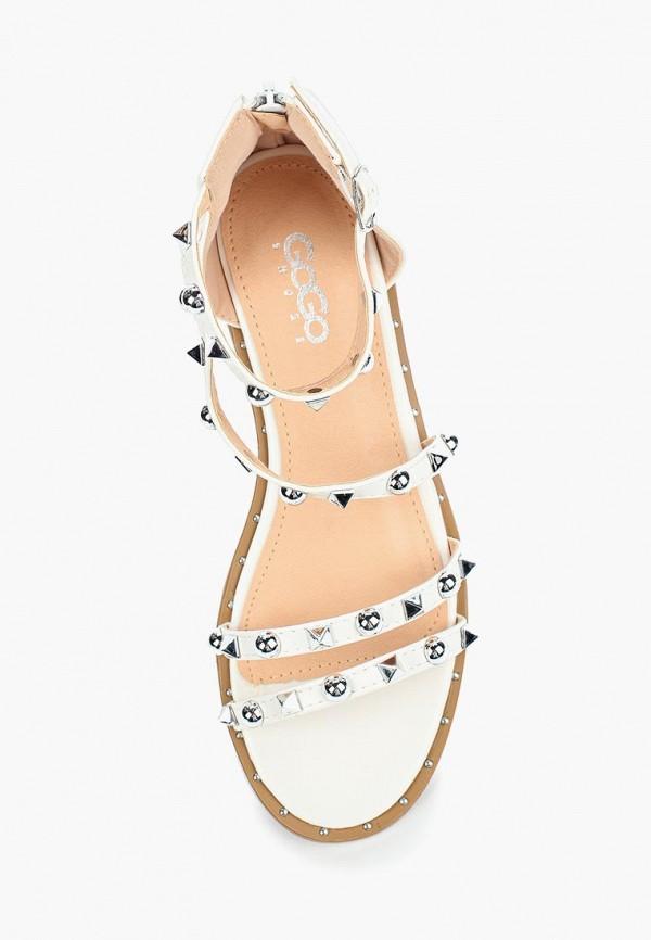 Фото 4 - женские сандали Go-Go белого цвета