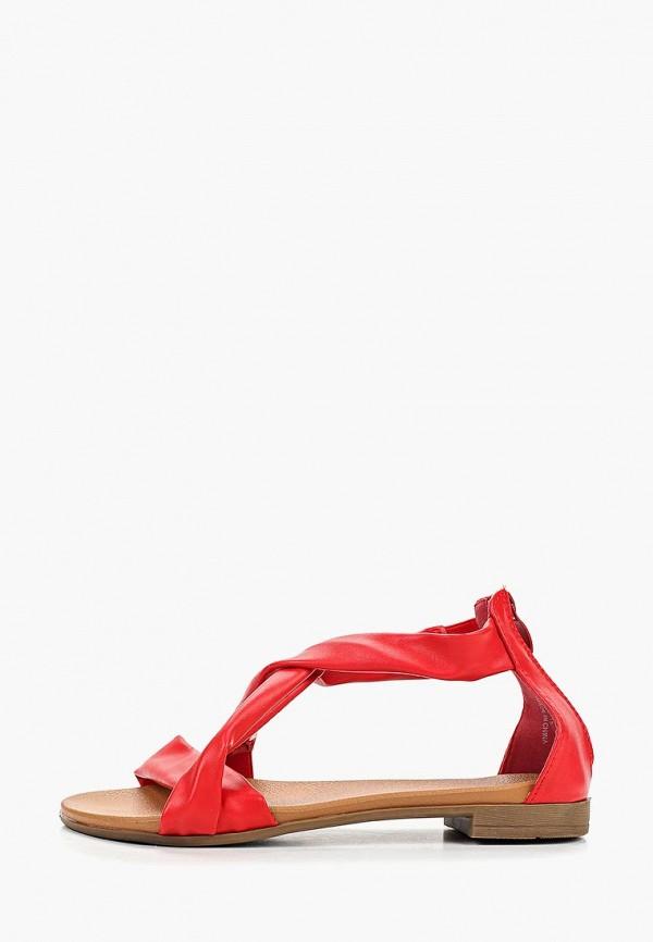 женские сандалии go-go, красные