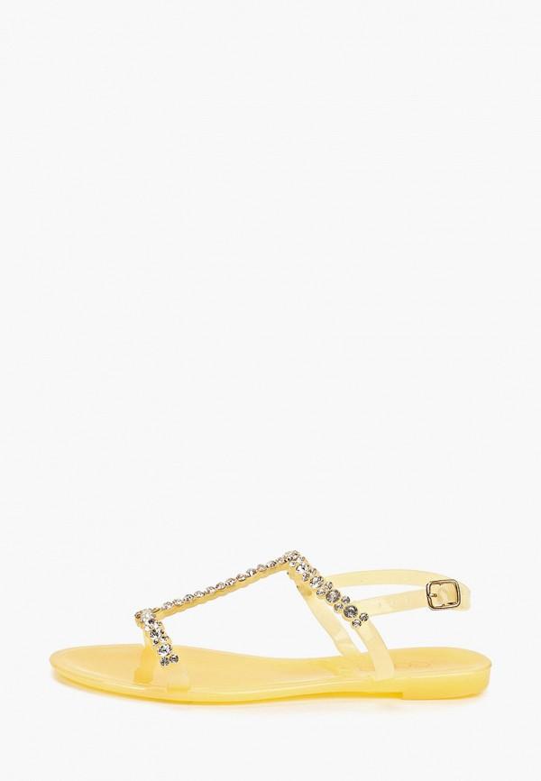 женские сандалии go-go, желтые