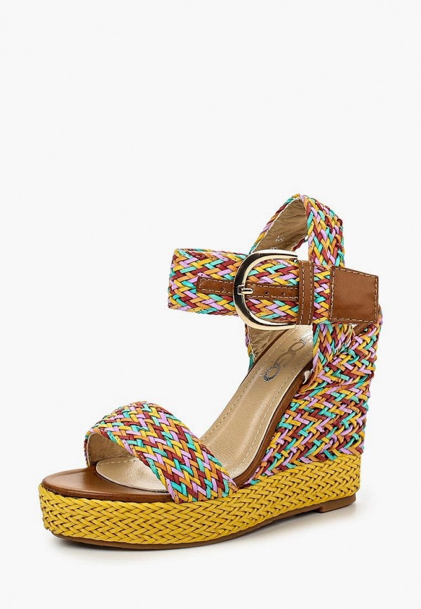 Купить Босоножки Go-Go, go017awirh77, разноцветный, Весна-лето 2016