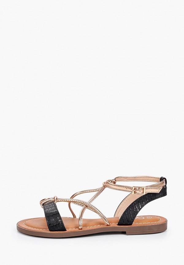 женские сандалии go-go, золотые
