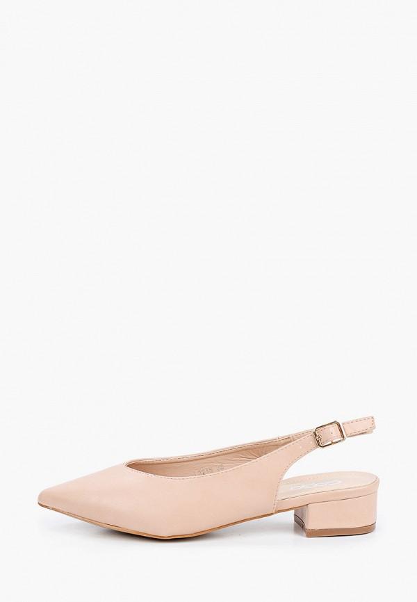 женские туфли go-go, бежевые
