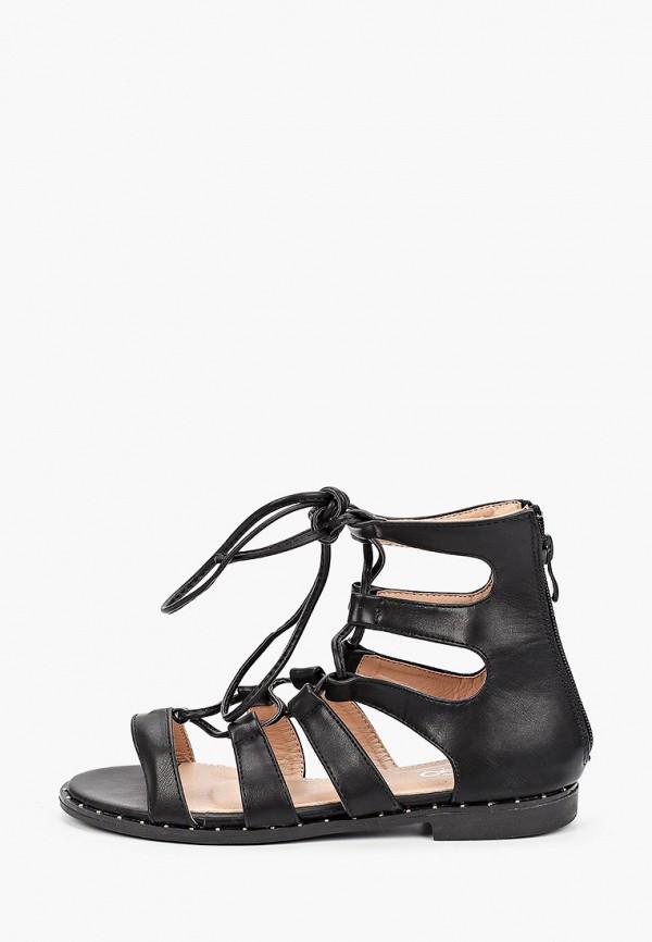 женские сандалии go-go, черные