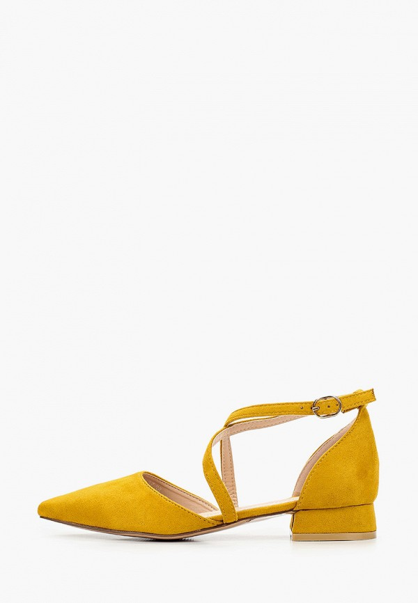 женские туфли go-go, желтые