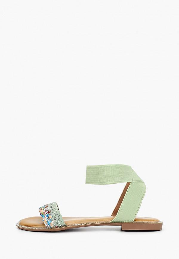 женские сандалии go-go, зеленые