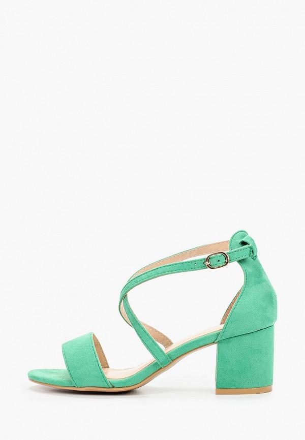 женские босоножки go-go, зеленые