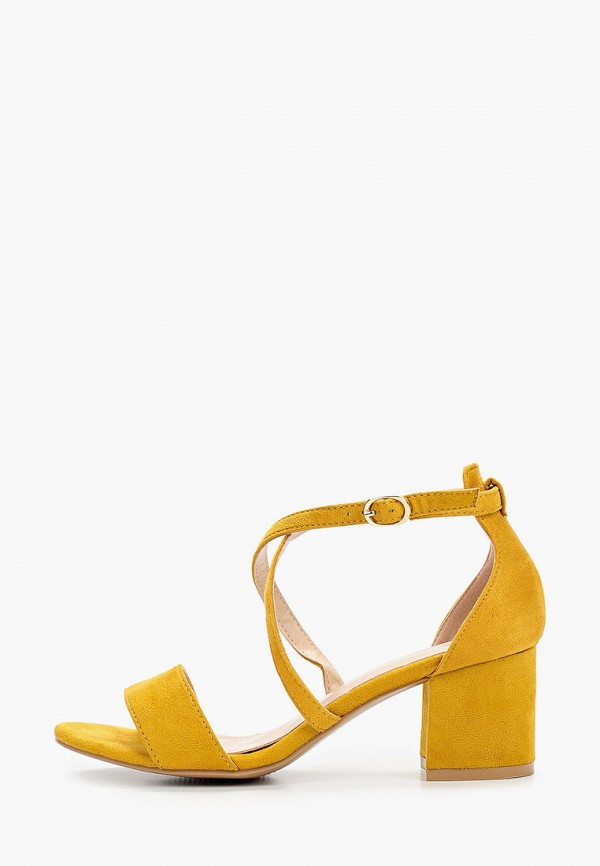 женские босоножки go-go, желтые