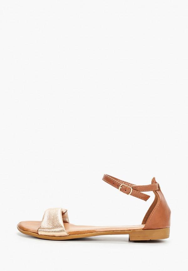 женские сандалии go-go, коричневые