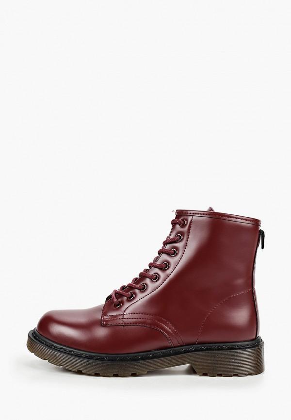 женские ботинки go-go, бордовые