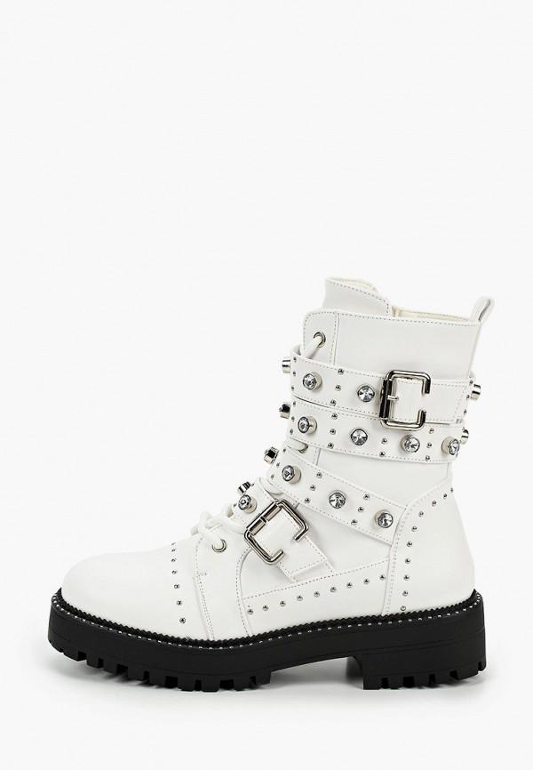 женские ботинки go-go, белые