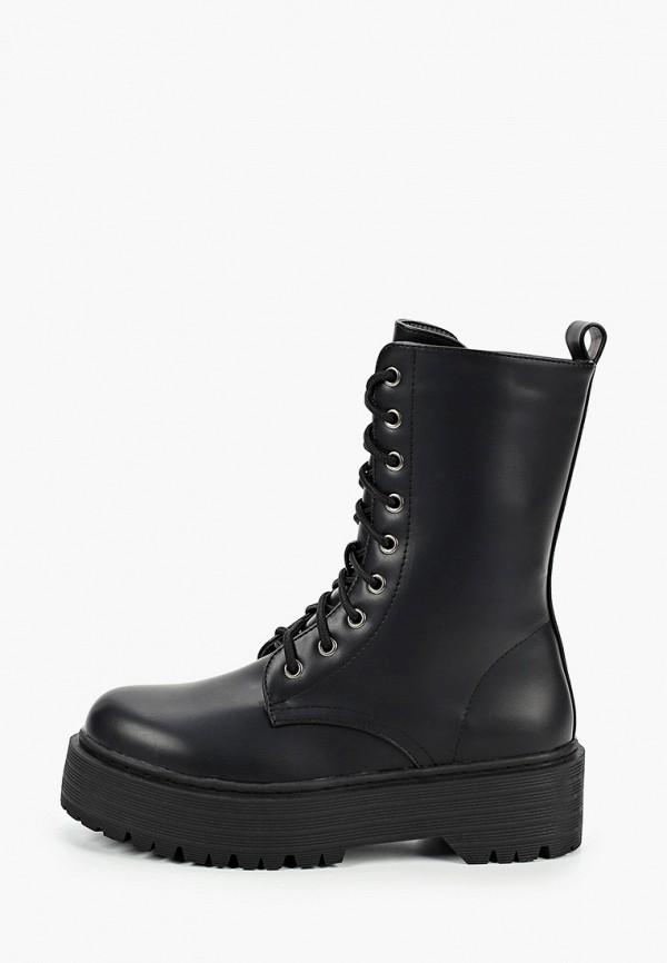 женские ботинки go-go, черные