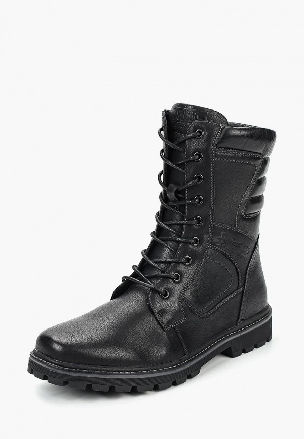 мужские высокие ботинки go.do, черные