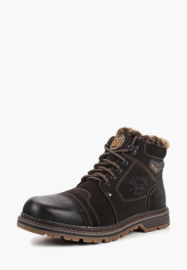 мужские высокие ботинки go.do, коричневые