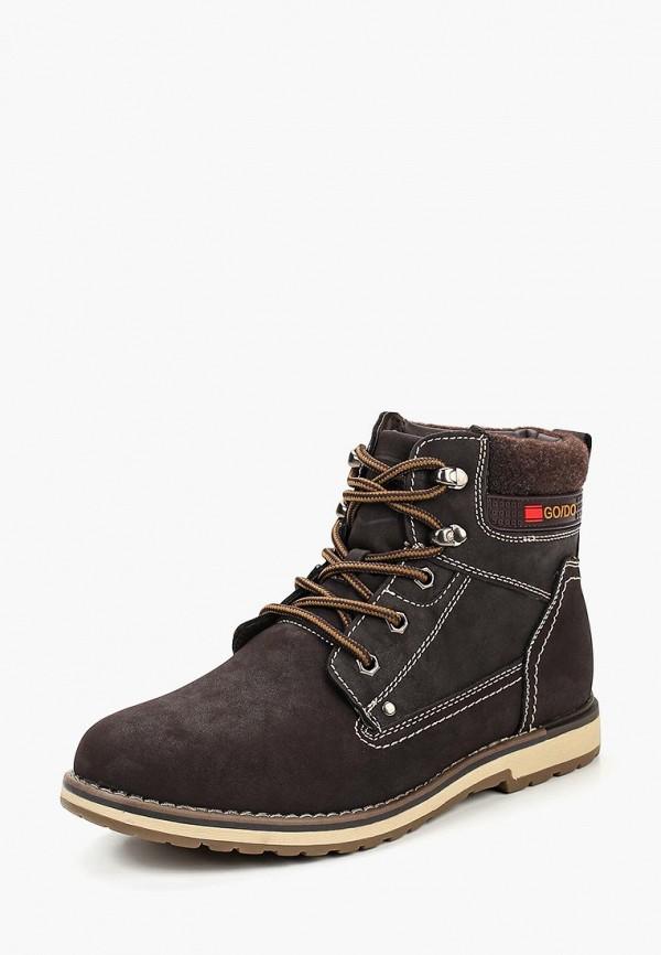 Купить Ботинки Go.Do., go019amcamq8, коричневый, Осень-зима 2018/2019