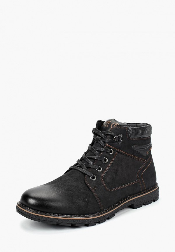 Купить Ботинки Go.Do., go019amcamq9, черный, Осень-зима 2018/2019