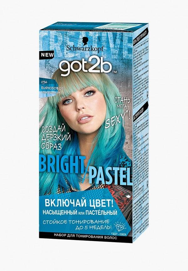 Краска для волос Got2B Got2B GO022LWFXYU3 стоимость