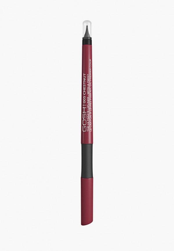 карандаш для губ gosh, розовый