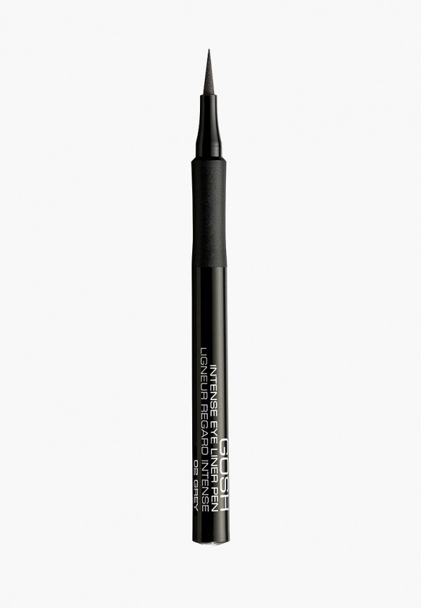 Купить Подводка для глаз Gosh, фломастер, 02 графитовый серый, go025lwcjyx5, прозрачный, Весна-лето 2019